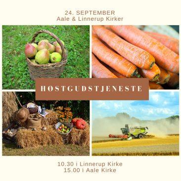 Høstgudstjenester 24. september
