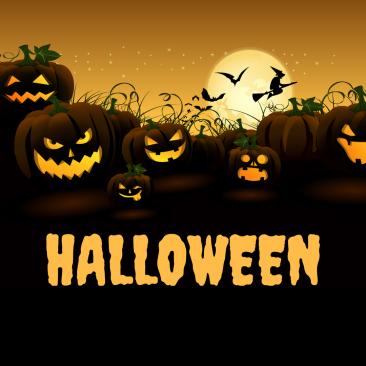 Halloween i Linnerup Kirke d.26. oktober kl. 19.00