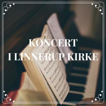 Koncert i Linnerup Kirke  •  22. marts  •  19.30