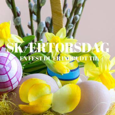 Skærtorsdag i Linnerup Kirke • 29. marts • 17.00